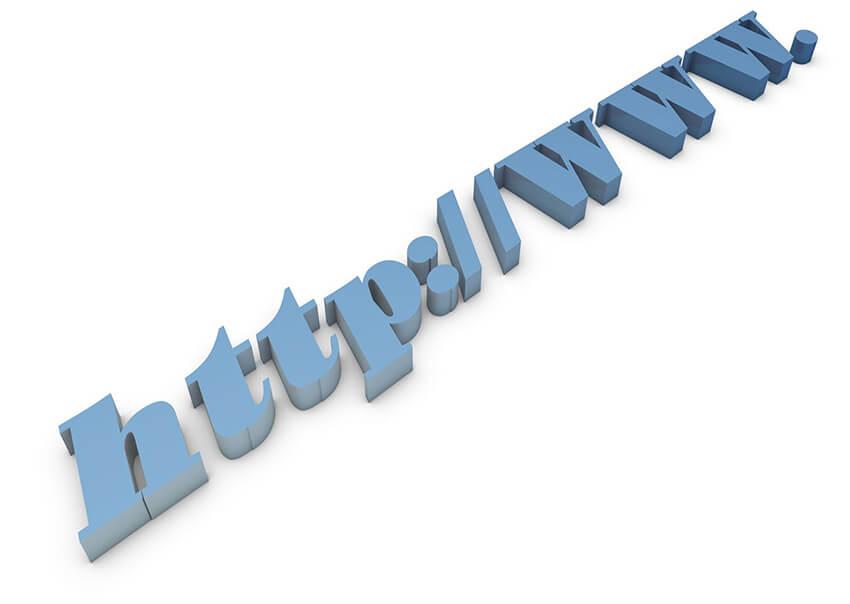 httpの立体文字