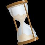 砂時計のイラスト