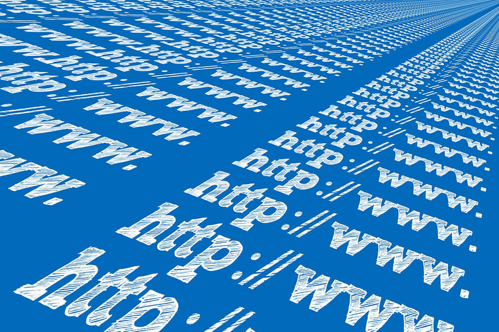 「www」を並べたワールドワイドウェブのイメージ画像