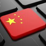 サムネイル「中国国旗を模したキーボードのキー」